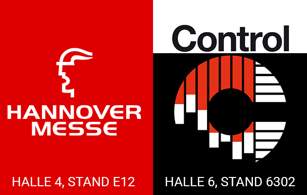 Banner Hannover Messeund Controll